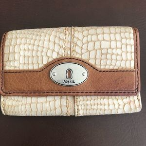 Fossil Fabric Wallet